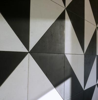 Mozaika z betonu architektonicznego Luxum