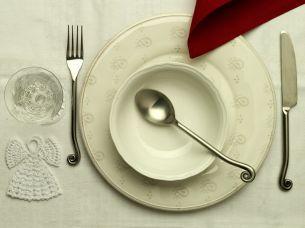 Nakryto do świąt - biel i czerwień