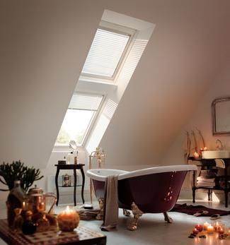 Okno dachowe w łazience: zasady montażu