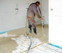 Podkład pod ogrzewanie podłogowe