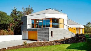 Duże płyty elewacyjne – sposób na wykończenie elewacji nowoczesnego domu
