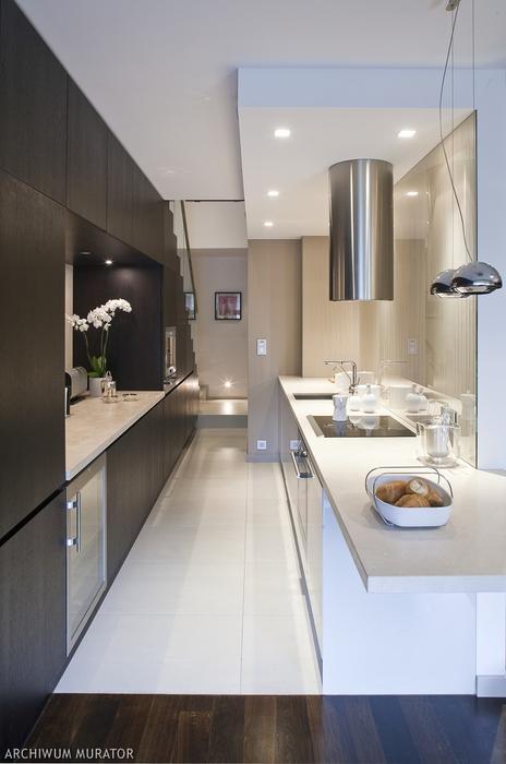Galeria zdjęć  11 sposobów na małą lub wąską kuchnię   -> Kuchnia Mala Wąska
