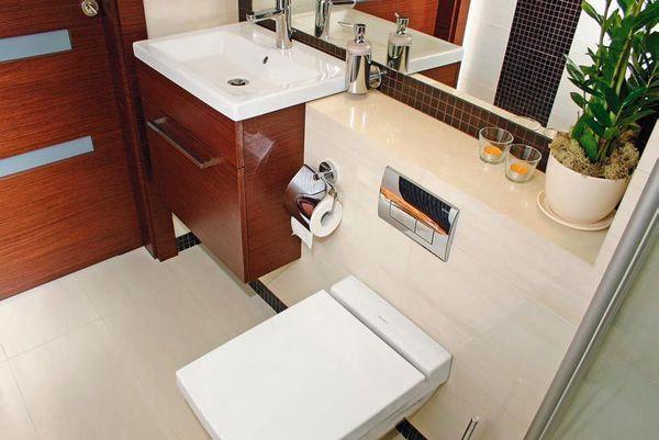 Remont łazienki - urządzenia sanitarne