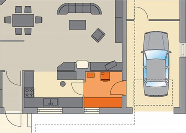 Projekt domu - sprawdź, gdzie w domu zaplanowano spiżarnię