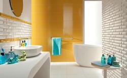 Kolorowe ściany w łazience - 10 odważnych kolorystycznie aranżacji łazienek [ZDJĘCIA]