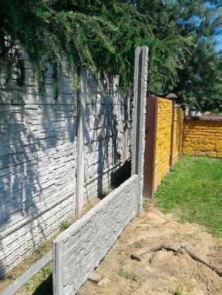 Budowa ogrodzenia betonowego