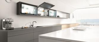 Sposób na funkcjonalną kuchnię - podnośniki do szafek górnych
