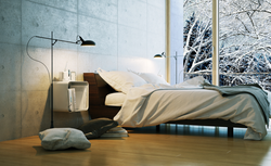 Zimowa sypialnia w stylu skandynawskim – minimalizm i naturalne dodatki