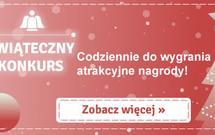 Kalendarz świąteczny - codziennie nowe nagrody!