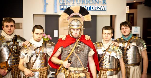 Legioniści Centuriona na targach Budma 2012